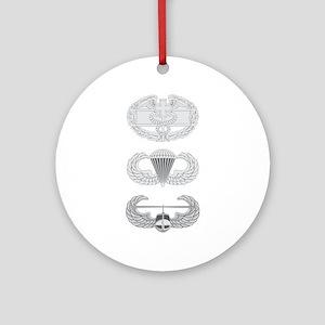 CFMB Airborne Air Assault Ornament (Round)