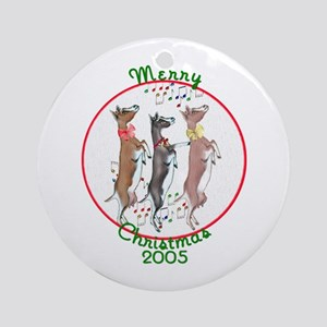 Togg Xmas Milkers Dancing Ornament (Round)
