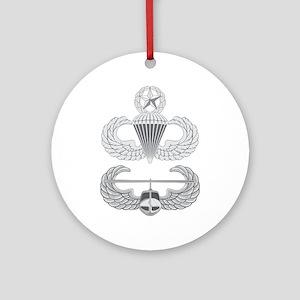 Master Airborne Air Assault Ornament (Round)