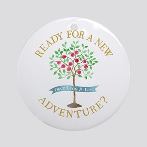 OUAT A New Adventure Round Ornament
