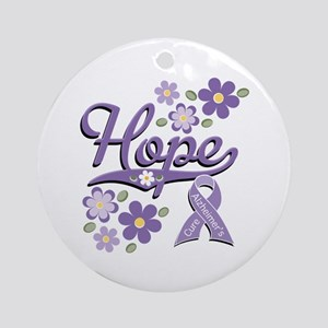 Hope Alzheimer's Ornament (Round)