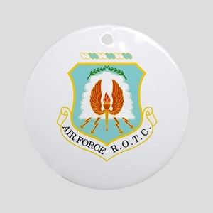 Air Force ROTC Ornament (Round)