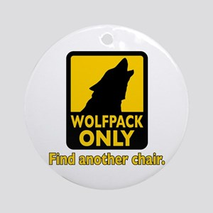 WOLFPACK ONLY! Ornament (Round)