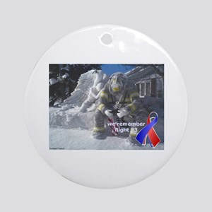 Remembering Flight 93 Ornament (Round)