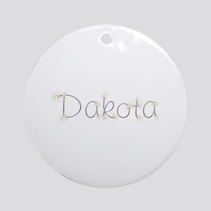 Dakota Spark Round Ornament