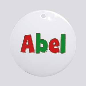 Abel Christmas Round Ornament