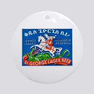 Ethiopia Beer Label 3 Ornament (Round)