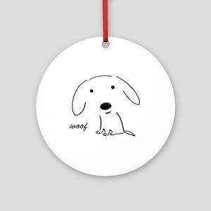 Little Woof Ornament/Keepsake