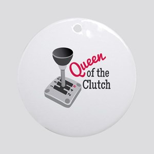 Queen Of Clutch Ornament (Round)