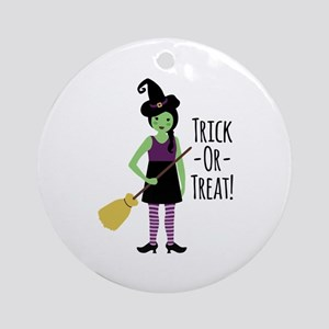 Trick - Or - Treat! Ornament (Round)