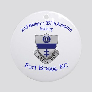 2nd Bn 325th ABN Inf Ornament (Round)