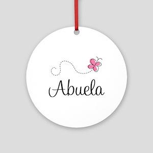 Abuela Grandmother Ornament (Round)