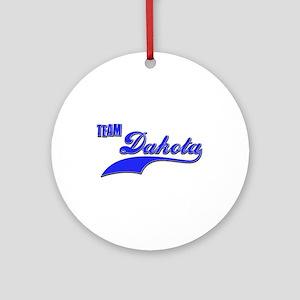 Team Dakota Ornament (Round)