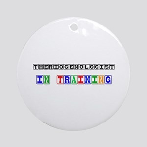 Theriogenologist In Training Ornament (Round)