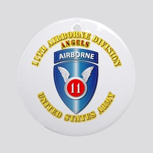 Army - 11th Airborne Division Ornament (Round)