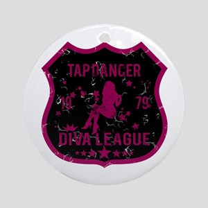 Tap Dancer Diva League Ornament (Round)