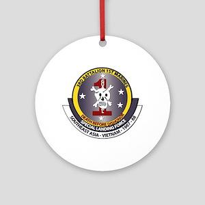 SSI - 3rd Battalion - 1st Marines USMC Ornament (R