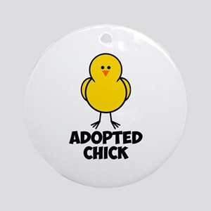 Adopted Chick Ornament (Round)