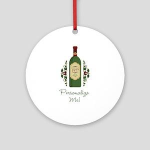 Customizable Birthday Ornament (Round)