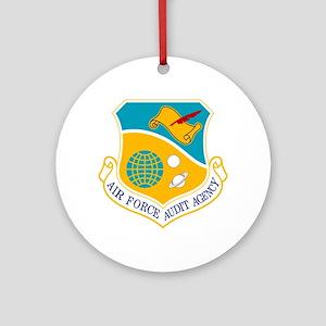 AF Audit Agency Ornament (Round)