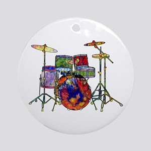 Wild Drums Ornament (Round)
