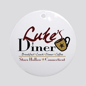Luke's Diner Ornament (Round)
