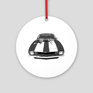 67 Camaro Ornament (Round)