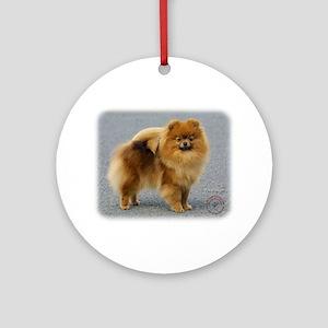 Pomeranian 9R042D-22 Ornament (Round)