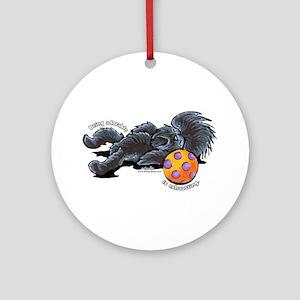 Adorable Affenpinscher Ornament (Round)
