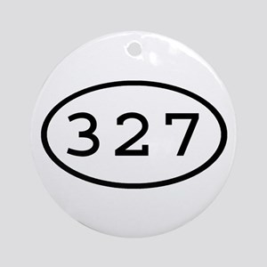 327 Oval Ornament (Round)