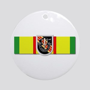 Ribbon - VN - VCM - 5th SFG Round Ornament