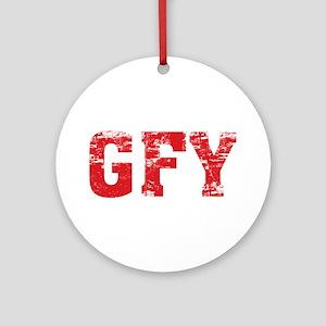 GFY Ornament (Round)