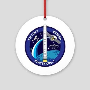CRS-2 Logo Round Ornament