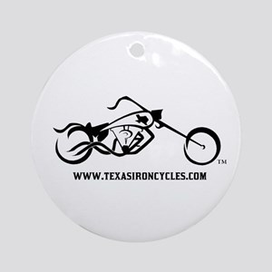 Iron Cycles Ornament (Round)