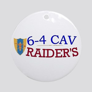 6th Squadron 4th Cavalry Ornament (Round)