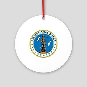 Air Guard-Seal-full Round Ornament