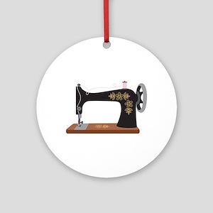 Sewing Machine 1 Ornament (Round)