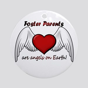 Angel Foster Ornament (Round)