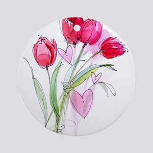 Tulip2 Ornament (Round)