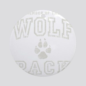 WolfPack -dk Round Ornament