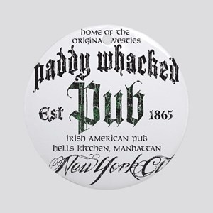 Paddy Whacked Pub Round Ornament