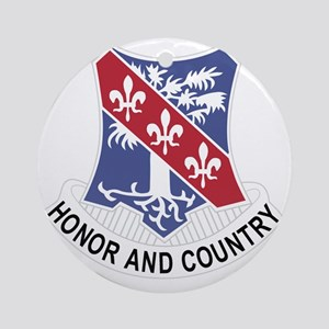 327th Glider Infantry Regiment Cres Round Ornament