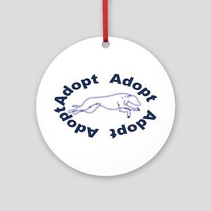 Adopt V2.0 Blue Ornament (Round)