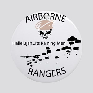 airborne ranger Round Ornament