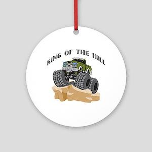 Rock Crawling 4 Wheeling Ornament (Round)