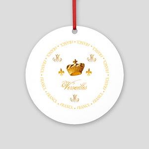 """Versailles-France 1"" Ornament (Round)"