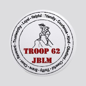 troop 62 Ornament (Round)