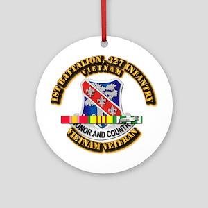 Army - 1st Battalion, 327 Infantry w SVC Ribbons O