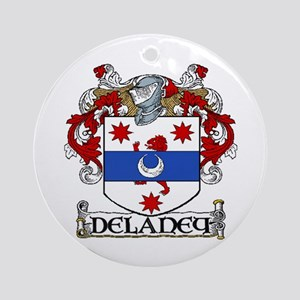 Delaney Coat of Arms Ornament (Round)