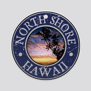 North Shore, Hawaii Ornament (Round)